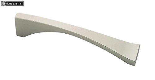 Liberty Hardware Palladium II 5-1/2 in. (140mm) Pull Matte Nickel - P03127-MN-C ()