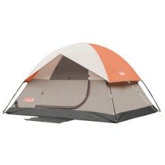 Coleman SunDome 9- by 7- Foot Four- Person Dome Tent (Green), Outdoor Stuffs