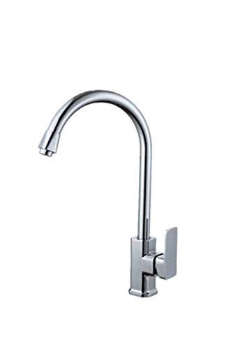GONGFF Bathroom Sink Taps Wash Basin Faucet Single Hole Single Sink Kitchen Bathroom Fashion Unleaded Quartet