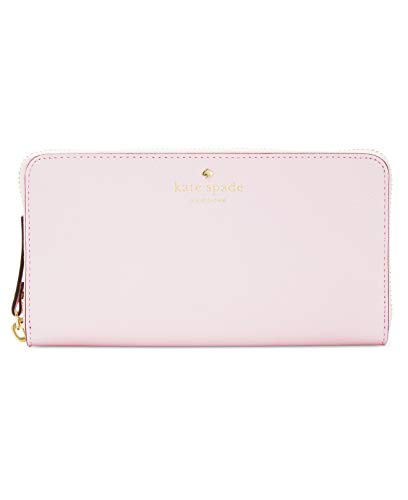 Kate Spade New York Mikas Pond Lacey Leather Wallet (Pink Blush)
