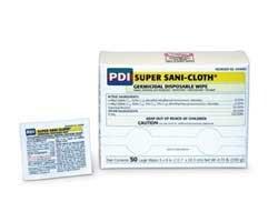 PDI Super Sani-Cloth® Germicidal Disposable Wipe, Large, Individual, 5\