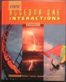 Algebra One Interactions, HR and W School Division Staff, 0030953545