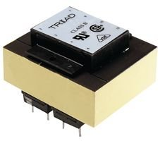 Isolation Transformer, Dual Bobbin, 2.5 VA, 2 x 115V, 2 x 6.3V, 400 mA, WORLD Series