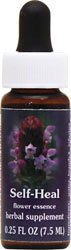 (Flower Essence Services Quintessentials Self-Heal Supplement Dropper, 0.25 Fluid Ounce)