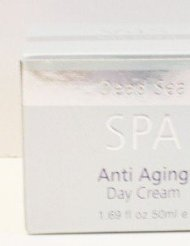 Dead Sea Spa Silver Edition Anti Aging Day Cream 1.69 Fl. Oz