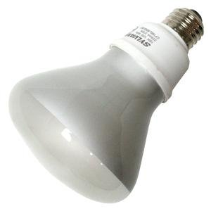 16 Watt - 65 W Equal - Warm White 2700K - CFL Light Bulb - BR30 Reflector - DULUX EL by Sylvania 29591