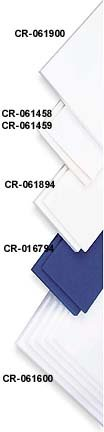 Cramer Adhesive Backed High-Density Foam Kit - 2 Sheets Of 1/4'' (12'' x 18'' Each Sheet) - Package of 6 Kits