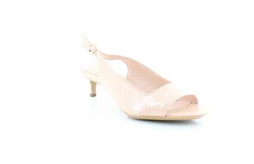 Womens Petal Slingback Sandal (Calvin Klein Garena Women's Sandals & Flip Flops Petal Pink Size 6 M)