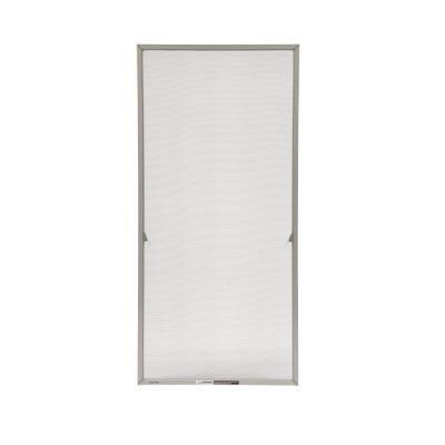 Andersen 20-11/16 in. x 55-13/32 in. Stone Aluminum Casement Insect Screen