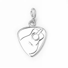 Intricate Detail Sterling Silver Charm - 7