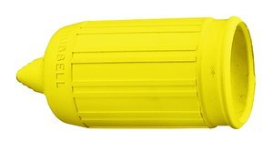 Long Yellow Weatherproof Boot for 15AMP InsulgripDevices