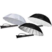 Westcott 7ft. Parabolic Umbrellas Triple Pack by Westcott