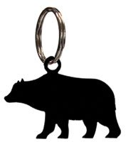 2.5 Inch Bear Key Chain - Village Stores Manhattan