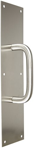 Rockwood 106 X 70C.32D Stainless Steel Pull Plate, 16