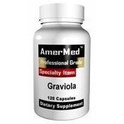 Amermed Graviola, 120 capsules