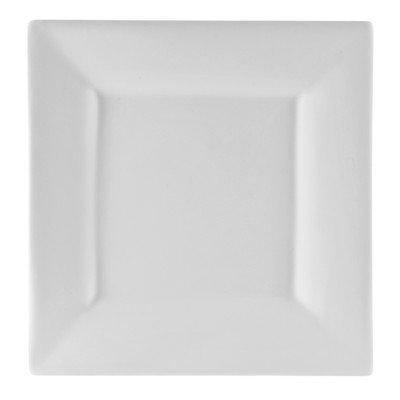 Exeter Porcelain Serveware Square Platter 16