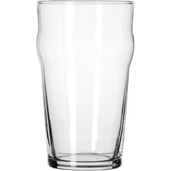 Libbey Glassware 14801HT English Pub Glass, Heat-Treated, 20 oz. (Pack of 36) by Libbey