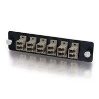 Q-Seriesandtrade; 12-Strand, LC Duplex, PB Insert, MM, Beige LC Adapter Panel Duplex Pb Insert
