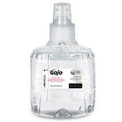GOJO Foam Soap Handwash - Clear and Mild Foam Handwash, 1200mL Refill for GOJO LTX-12 Dispenser (Pack of 2) - 1911-02
