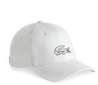 88f87fed39e Image Unavailable. Image not available for. Colour  Lacoste Mens RK5133  Aquarelle Baseball Cap White ...