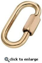 /Carabiner Maillon Rapide maill/ón Long Zinc Plated D7/mm/
