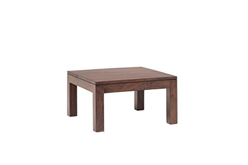 India Covers Vogue Solid Wood End Table (Honey Brown Finish, Brown)