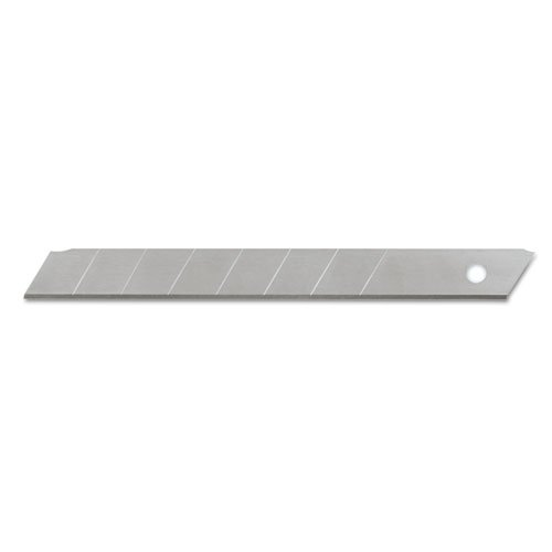 Quickpoint Snap Off Straight Handle (Cosco QuickPoint Snap-Off Straight Handle Retractable Knife Replacement Blades, 10 per Pack (091473))