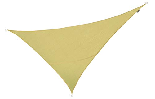 Kookaburra Breathable Sun Sail Shade – Sand – 13ft 9 x 19ft 8 Right Angled Triangle