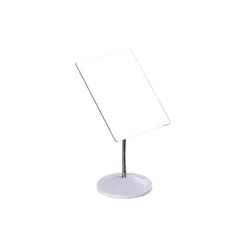 - Lsxlsd Desktop Vanity Mirror Portable Folding Mirror, Student Dormitory Dressing Table Mirror Metal Hose