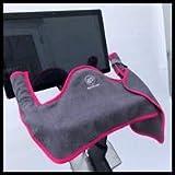 spintowel New HOT Pink - Peloton Handlebar Towel Set