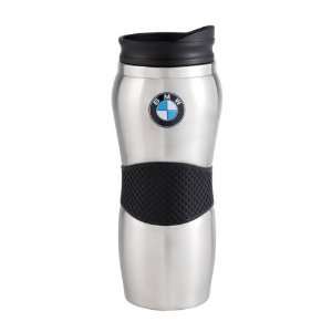 708daf108cf Image Unavailable. Image not available for. Color: Genuine BMW Gripper  Travel Mug- Stainless Steel