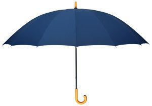 Leighton Doorman Manual Crook Handle, - Manual Umbrella