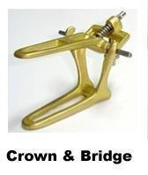 BESQUAL - Articulator Crown and Bridge- Each -Brass- ( Artic 100831 Us Depot