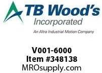 Pack Of 2 TBWOODS V001-6000 BEARING SPACER HSV11