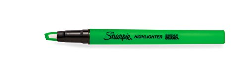 Sharpie Clear View Highlighter Stick, Green, Box of 12 (1950450) by Sharpie (Image #5)