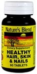 Nature`s Blend Healthy Hair, Skin & Nails Tablets 60 ct