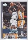 Gilbert Arenas (Basketball Card) 2007-08 Upper Deck - [Base] - Championship Court #200