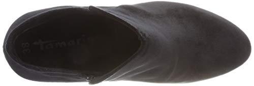 Tamaris Velvet black Stivaletti 48 Neri Donne 21 Delle 25046 5Bqapn066