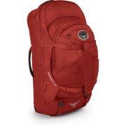 Osprey Packs Farpoint 55 Travel Backpack, Jasper Red, Medium/Large