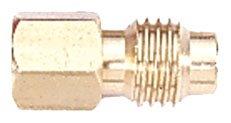 Mastercool 82634 1/4-Inch FL-Female (7/16-20-Inch) x 1/2-Inch ACME-Male Connector