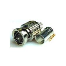 Canare BCP-B4F 75 Ohm BNC Crimp Plug (for L(S)-4CFB/ L-4CHD/ 1505A)-by Canare ()