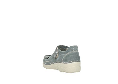wolky 10200 Grey nbsp;Ontario Nubuck 9453 schnürschuhe rqxf14Sr