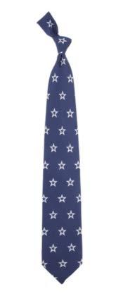 Eagles Wings NFL Dallas Cowboys Men's Print Silk Prep Necktie, One Size, Multicolor
