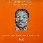 Blind Joe Taggart 1926 to 1931