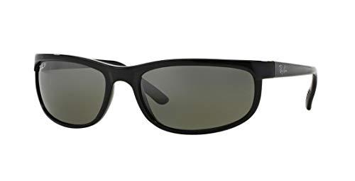 Ray-Ban Predator 2 Sunglasses Rb2027 601/W1 Black Crystal Mirror Gray