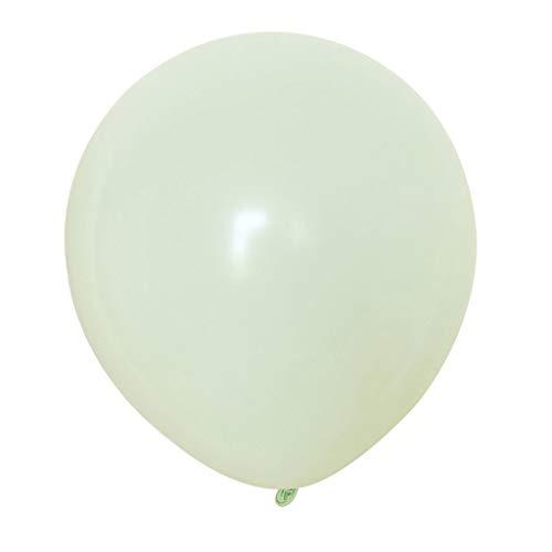 Weiliru 10 Inch Thick Round Birthday Party Wedding Arrangement Balloon Color,100PCS ()