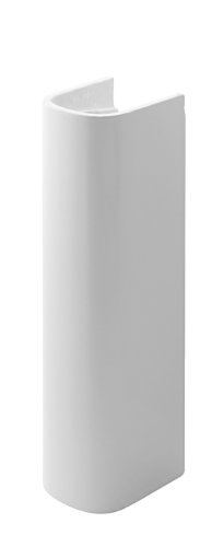 Duravit 0863270000 D-Code Sink Pedestal, White Finish