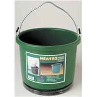 Buckets Heated Horse (DPD Plastic Heated Bucket - 2 Gallon)