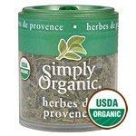 Simply Organic Herbes de Provence ORGANIC 0.14 oz. Mini Spice - 3PC ()