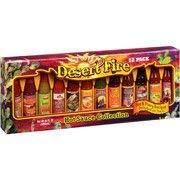 Desert Fire Hot Sauce Collection, 36 Fl Oz, 12 Count